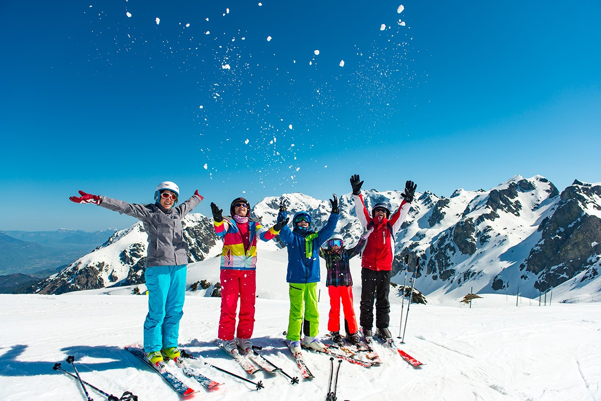 Chamrousse ski famille