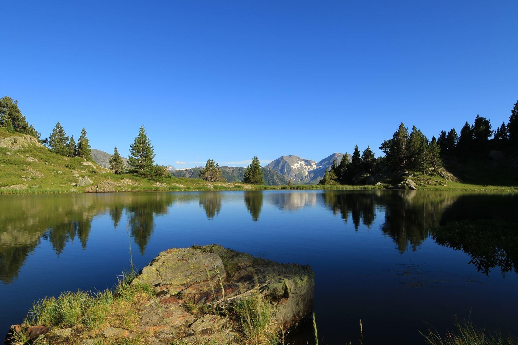 Chamrousse lake summit trek mountain resort grenoble isere french alps france
