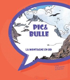Photo de l'exposition Pic & Bulle la montagne dans la BD Chamrousse