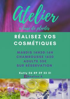Atelier cosmétiques