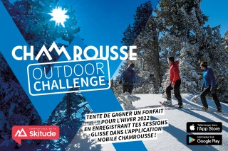 Challenge ski application mobile Chamrousse