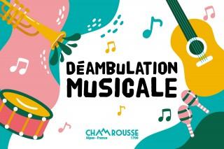 Déambulation musicale Chamrousse 1600