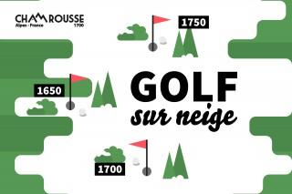 Golf sur neige Chamrousse