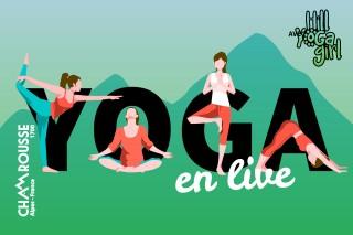Yoga en live