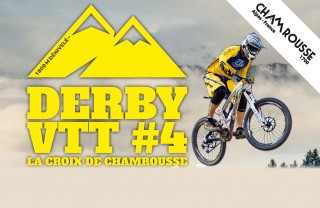 Affiche Derby VTT Chamrousse 2018