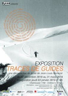 Affiche exposition Traces de guides