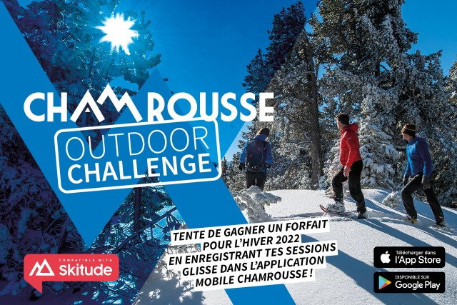 Challenge ski application mobile Chamrousse