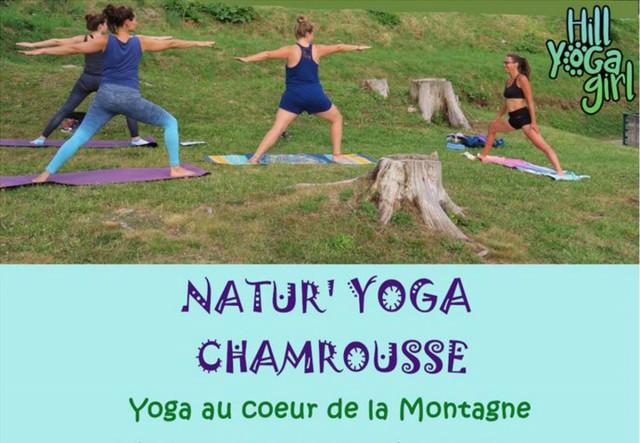 Chamrousse mountain yoga