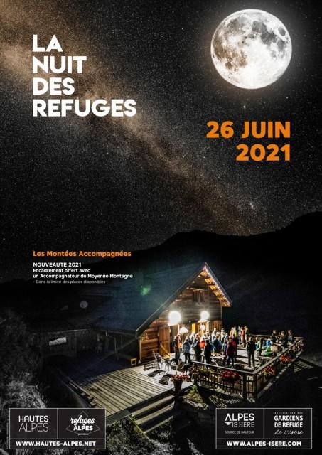 Nuit des refuges 2021 - La Pra Chamrousse