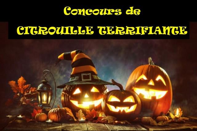 Chamrousse pumpkin contest