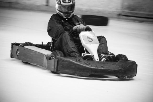 Photo de karting sur glace