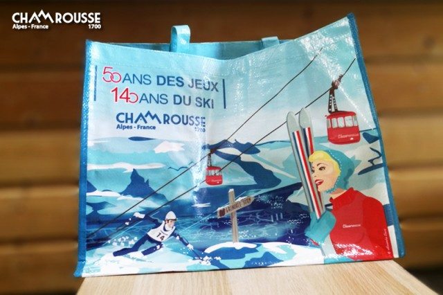 Sac cabas 50 ans Jeux Olympiques Grenoble Chamrousse