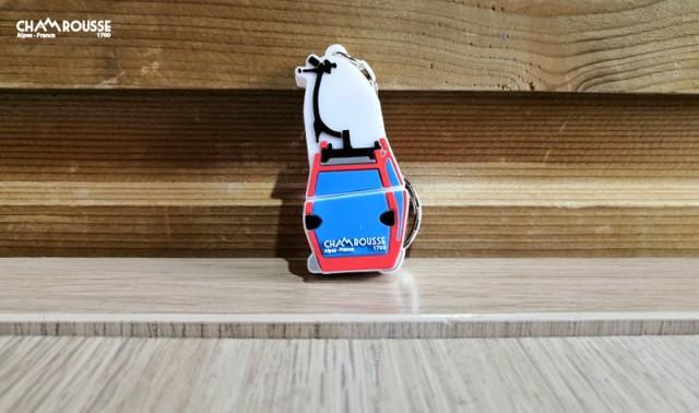 Chamrousse gift shop souvenir gondola USB stick mountain ski resort isere french alps france