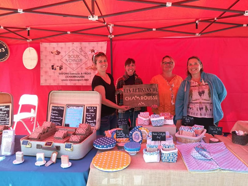 Photo marché artisanal Chamrousse