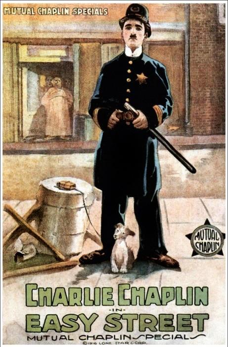 Affiche Charlot policier