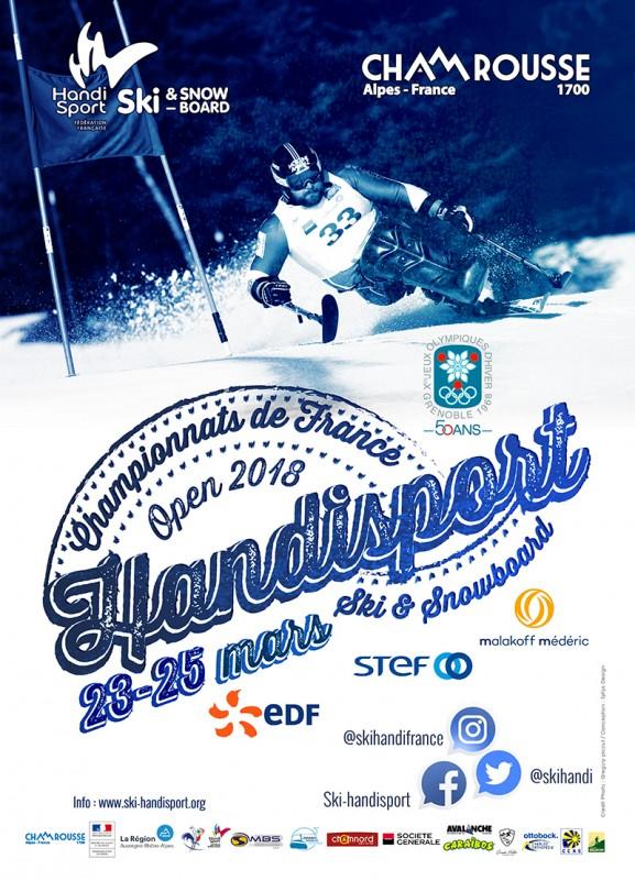 Affiche Championnats de France Handisport