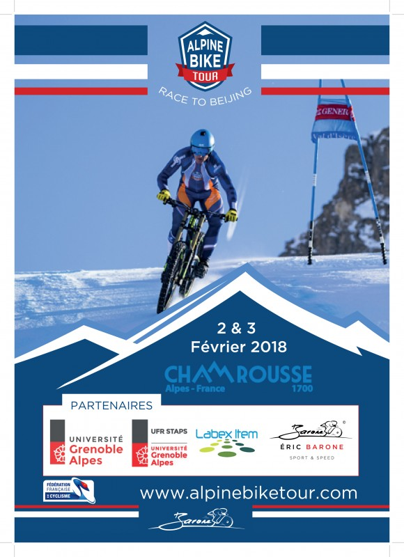 Affiche Alpine Bike Tour