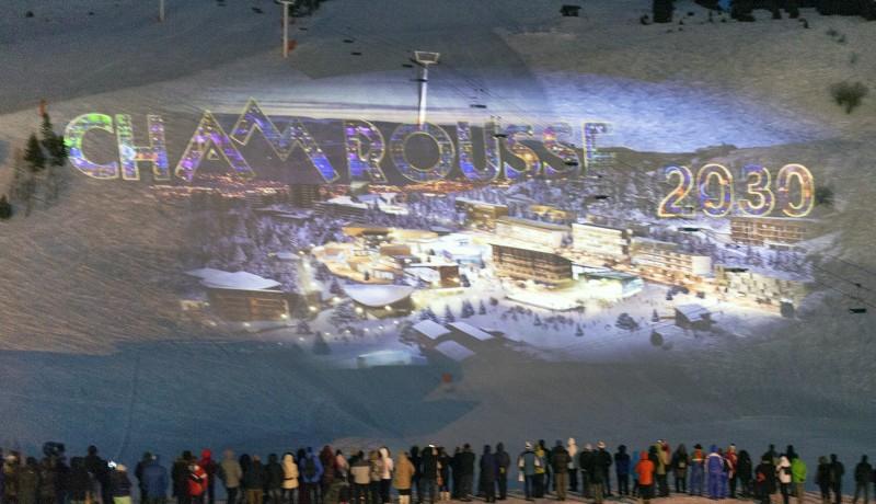 Projection monumentale 50 ans JO Chamrousse