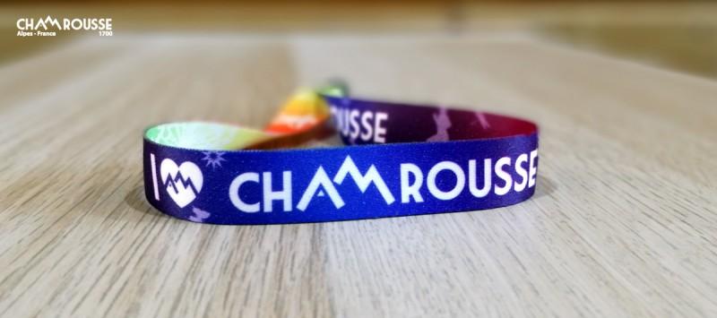 Armband  I love Chamrousse