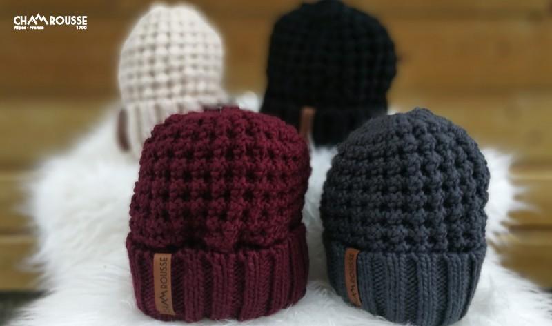 Chamrousse woolly hat