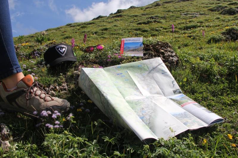 Cartes GR738 haute traversée Belledonne - Chamrousse
