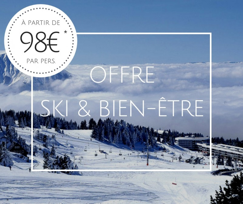 Ski and well-being offer Uriage-Chamrousse
